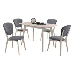 Evans Dining Set II (1+4)