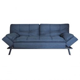 Jones Sofa Bed, Grey (2.5 Seater)