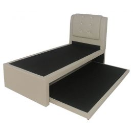 Kaiben 2-in-1 Faux Leather Bed Frame