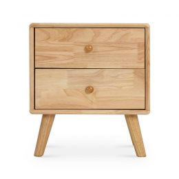 Kammi Solid Wood Side Table