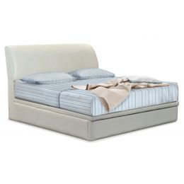 Kristy Leather Storage Bed