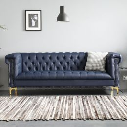 Leo Chesterfield 3 Seater Sofa