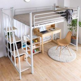 Linie Japanese Metal Loft Bed