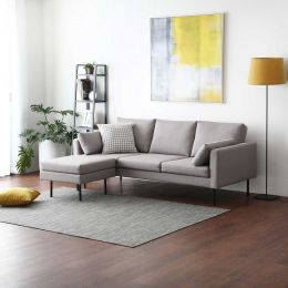 Luna Sofa - L-Shaped (Water Repellent Fabric)