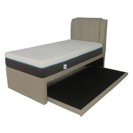 Medina 2-in-1 Faux Leather Bed Frame