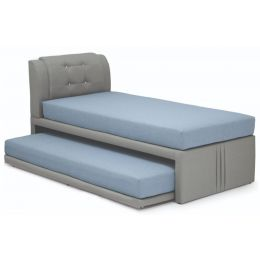 Mitsuki Fabric 3 in 1 Bed Frame (Super Single)