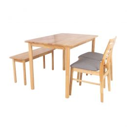 Miyu Solid Wood Dining Set