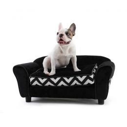 Mono Velvet Pet Sofa Bed