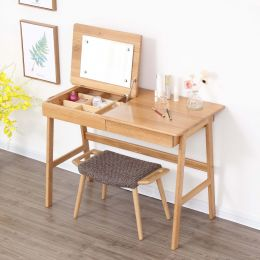 Nara American Oak Wood Dressing Table 1050mm
