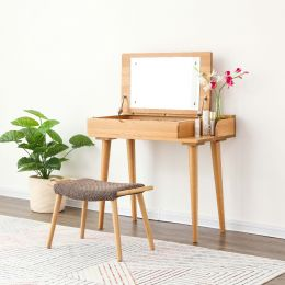 Nara American Oak Wood Dressing Table 850mm