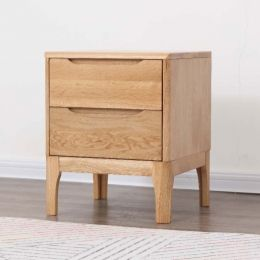 Nara American Oak Wood Side Table