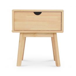 Nariko Solid Wood Side Table