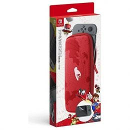 Super Mario Odyssey Carrying Case with Screen Protector - Nintendo Switch