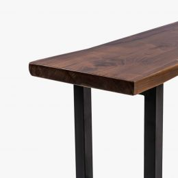 HOPEN North American Black Walnut Bench