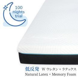 Nuloft Natural Latex/Memory Foam Mattress