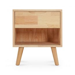 Olande Solid Wood Side Table