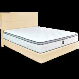 Sleepy Night Ortho Supreme Pocketed Spring Mattress Bed Frame Bundle