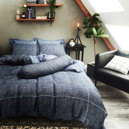 Palais Suite Tencel Sapphire Blue Bundled Bed Set
