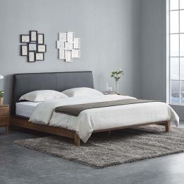 Parco Ash Wood Bed Frame