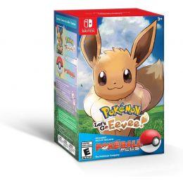 Pokemon: Let's Go, Eevee + Poké Ball Plus Pack - Nintendo Switch