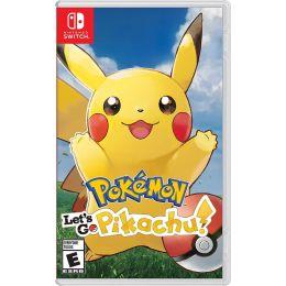 Pokemon: Let's Go, Pikachu - Nintendo Switch
