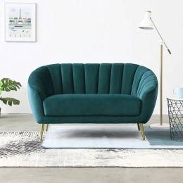 Quinn 2 Seater Velvet Sofa