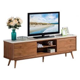 Rosli Cultured Marble TV Stand