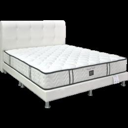 Sleepy Night Royal Pedic Pocketed Spring Mattress Bed Frame Bundle