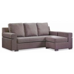 Quentus 3 Seater Sofa with Stool