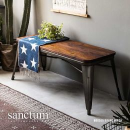 Sanctum Vintage Solid Wood Dining Bench