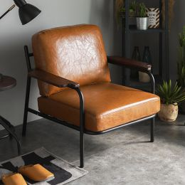 Sanctum Soft Leather Armchair (1 Seater)