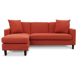 Lisbon L Shaped Fabric Sofa