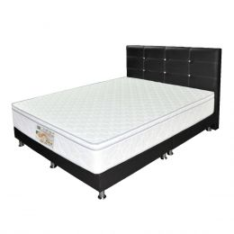 Sleepy Night Tender Sleep Spring Mattress + Bed Frame Bundle