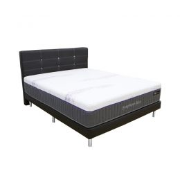 Sleepy Night Symphony Bliss Mattress + Bed Frame Bundle