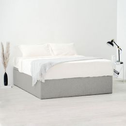 TRAKEN Storage Bed Frame (Stain-Resistant Fabric)