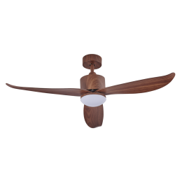"Crestar Valueair 40""/46"" DC LED Ceiling Fan (Wood)"