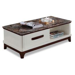 Ventril Marble Top Coffee Table