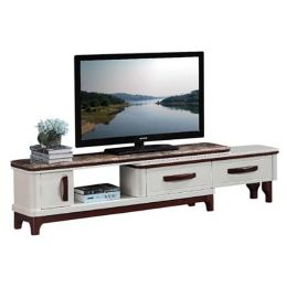 Ventril Marble Top Extendable TV Stand I