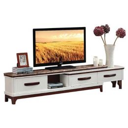Ventril Marble Top Extendable TV Stand II