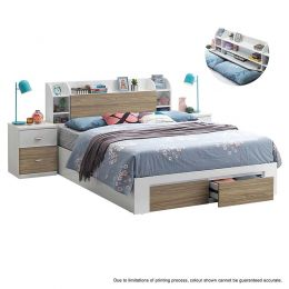 Zavaha Bed Frame (Queen Size)