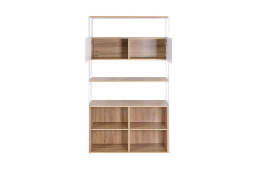 Built with multiple compartments. Ample storage space to store items and display decorations.