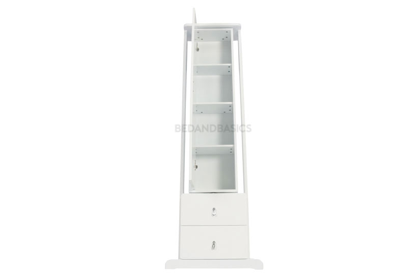 With 4 compartments, keep your vanity area organised and clutter-free.