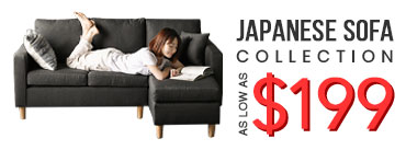 Japanese Sofa Collection from as low as $199!