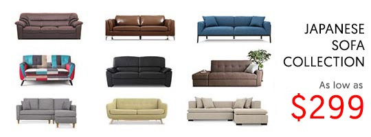 Japanese Sofa Collection from as low as $299