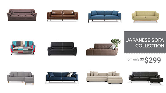 Japanese Sofa Collection