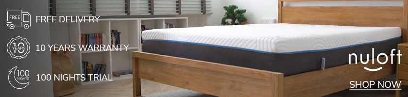 Nuloft Mattresses. 100 nights trial, up to 10 years warranty, free delivery. Shop now.