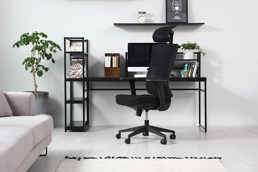 Classy and sophisticated. Perfect for both professional workspaces and home offices.
