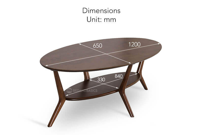 Kallan Coffee Table dimensions
