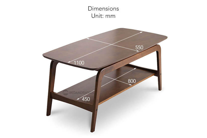 Onix coffee table top dimensions