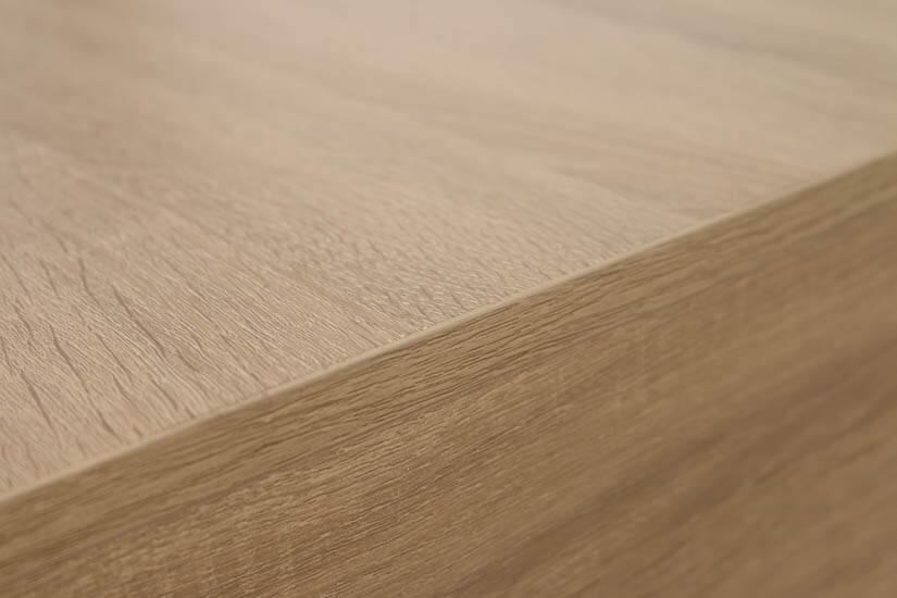 All around wooden swirls.
